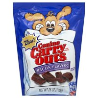 Canine Carry Outs Bacon Flavor Dog Snacks, 25-Ounce Bag