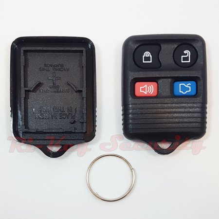 2002 02 Ford Escort Wagon - Replacement Remote Shell Case Keyless FOB For Ford Escort Wagon ZX2 1998-2004
