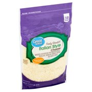 Great Value Finely Shredded Italian Style Cheese, 16 oz