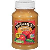 (3 Pack) Musselman's? Chunky Apple Sauce 24 oz. Plastic Jar