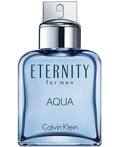 Calvin Klein Beauty Eternity Aqua Eau De Toilette For Men, 3.4 (Eternity Crystal)