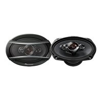 Pioneer 6x9 Inch 5-Way 650W Coaxial Car Audio Stereo Speakers, Pair | TS-A6996R