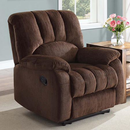 Mainstays Recliner with Pocketed Comfort Coils, Multiple Color