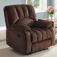 Mainstays Recliner with Pocketed Comfort Coils, Multiple Colors