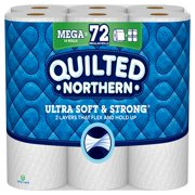 Quilted Northern Ultra Soft & Strong Toilet Paper, 18 Mega Rolls