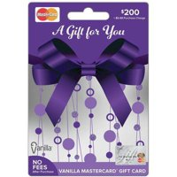 MasterCard $200 Gift Card
