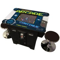 401 Games in 1 Cocktail Arcade Machine Includes 2 Chrome Stools 5 Year Warranty