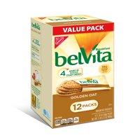 (2 Pack) Belvita Golden Oat Crunchy Breakfast Biscuits, 21.1 Oz