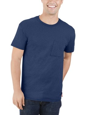 Men's Dual Defense UPF Pocket T Shirt, Available up to sizes 4X