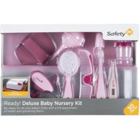 Safety 1st Ready! Deluxe Baby Nursery Kit (Raspberry), Pretty in Pink