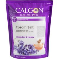Calgon Lavender and Honey Soothing and Relaxing Epsom Salts Soak, 3 lb