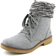 ce1982b68af1 Rocket Dog Temecula Women Round Toe Canvas Gray Mid Calf Boot