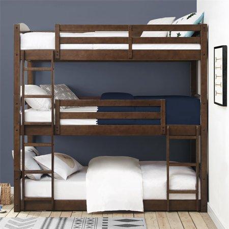 Better Homes Gardens Tristan Triple Floor Bunk Bed Multiple