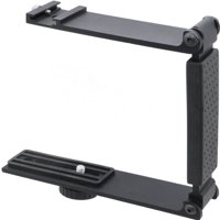 High Quality Aluminum Mini Folding Bracket For Nikon COOLPIX B700 (Accommodates Microphones Or Flashes)