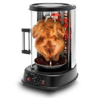NutriChef Vertical Rotisserie Oven - Rotating Kebob Cooker