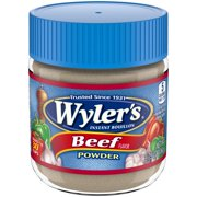 (2 Pack) Wyler's Beef Flavor Instant Bouillon Powder, 3.75 oz Jar