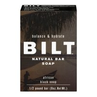 Bilt Balance & Hydrate Natural Bar Soap African Black Soap, 8.0 OZ
