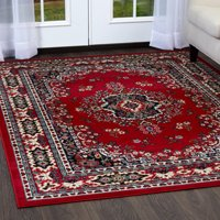Red Area Rugs Walmartcom