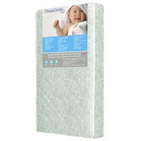 "Dream On Me Little Butterflies 6"" 2-in-1 Foam Core Crib and Toddler Bed Mattress"