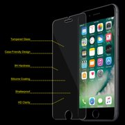 iPhone 6/ 6S Plus Tempered GLASS Screen Protector Bubble Free Scratch Resistant Case Friendly Ultra