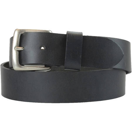 1-1/2 in. US Steer Hide Harness Leather Men's Belt w/ Antq. Nickel Buckle](Kim Possible Belt)