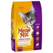 Meow Mix Original Choice Dry Cat Food, 3.15 lb