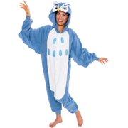 SILVER LILLY Unisex Adult Plush Animal Cosplay Costume Pajamas (Owl)