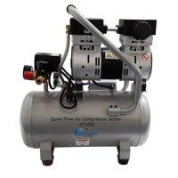 California Air Tools 4710SQ Quiet Flow 1.0 Hp, 4.7 Gal. Steel Tank Air Compressor