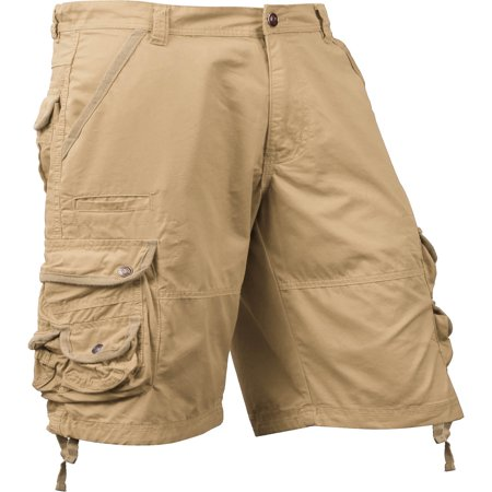 Candy Stripe Cotton Shorts (Ma Croix Mens Premium Utility Loose Fit Twill Cotton Multi Pocket Cargo Shorts Outdoor)