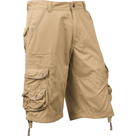 - Ma Croix Mens Premium Utility Loose Fit Twill Cotton Multi Pocket Cargo Shorts Outdoor Wear
