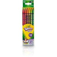 Crayola, Twistable Colored Pencils 12 Count