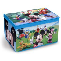 Disney Mickey Mouse Fabric Toy Box by Delta Children