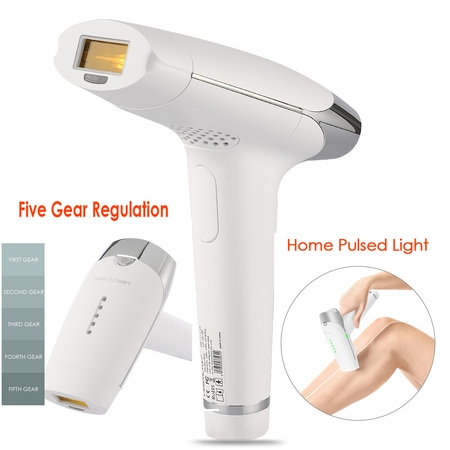 3in1 Laser IPL Permanent Hair Removal Machine Face&Body Skin Painless Epilator Home Skin Rejuvenation- 5 Gear (Best At Home Laser Hair Removal)
