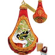 G Debrekht Finch Ornament