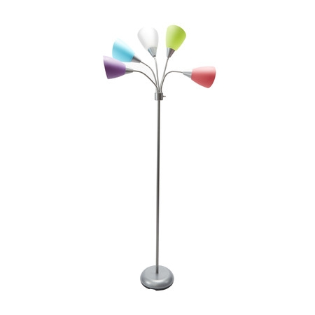 Mainstays 5-light Floor Lamp (Silk Contemporary Floor Lamp)