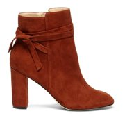 3454ce36431 NEW Womens Sole Society Flynn Suede Ankle Boots Rust Size 9.5 M ASO QVC!