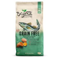 Purina Beyond Grain Free Ocean Whitefish & Egg Recipe Adult Dry Cat Food - 5 lb. Bag
