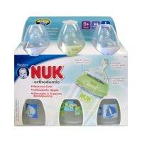 Nuk Orthodontic Silicone Bpa Free Nipple Bottle - 10 Oz