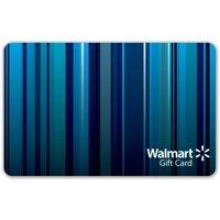 Blue Stripes Walmart Gift Card