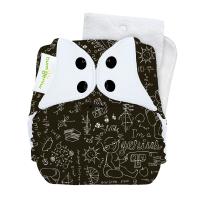 bumGenius Original One-Size Cloth Diaper 5.0 - Albert (fits babies 8-35 lbs)