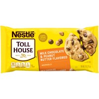 (3 pack) NESTLE TOLL HOUSE Milk Chocolate & Peanut Butter Morsels 11 oz. Bag