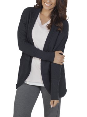 Women's Essentials French Terry Cocoon Comfort Wrap