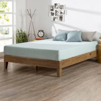 Zinus Wen Deluxe Solid Wood Platform Bed, Multiple Sizes, Multiple Colors