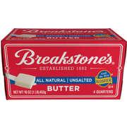 Breakstone's Unsalted Elgin Butter Quarters 18/1#