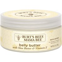 Burt's Bees Mama Bee  Belly Butter, Fragrance Free Lotion, 6.5 oz Tub
