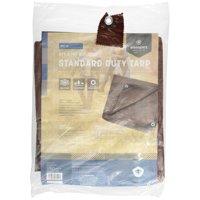 Rip Stop Tarp, 5' x 7', Brown, Standard Duty
