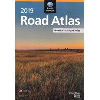 Rand McNally 2019 Road Atlas W/ Vinyl Protective Cover
