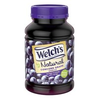 (4 Pack) Welchs Welch's Natural Concord Grape Spread, 27 Oz Jar