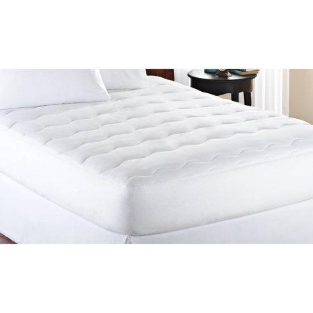 extra thick mattress pad Mainstays Extra Thick Mattress Pad 10 oz fill in Multiple Sizes  extra thick mattress pad