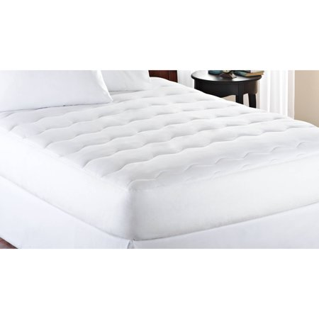 Mainstays 10 Ounce Fill Extra Thick Mattress Pad 1 Each